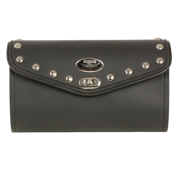 Milwaukee Performance SH49901 Black PVC Large Studded Winshield Bag with Turn Clasp