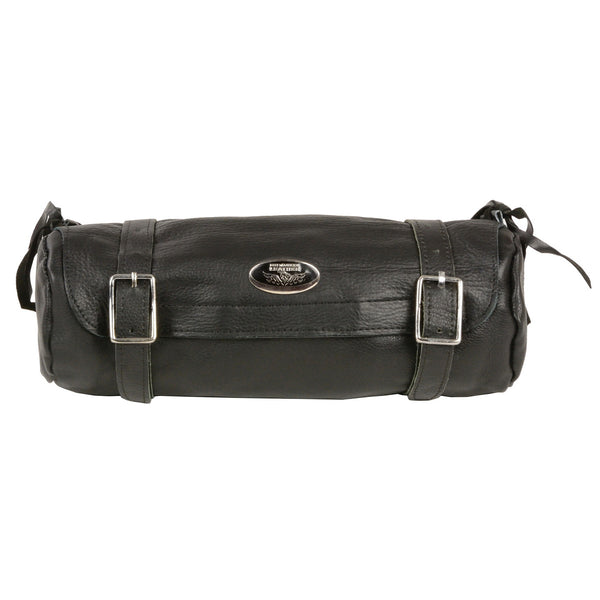 Milwaukee Performance SH501BAG Black Soft Leather Large Double Buckle Tool Pouch