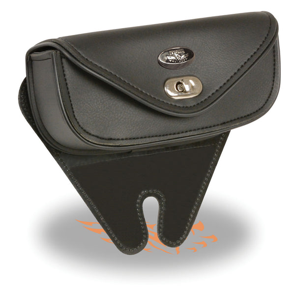 Milwaukee Performance SH67102 Black Small Single Pocket Windshield Mount Bag with Turn Clasp