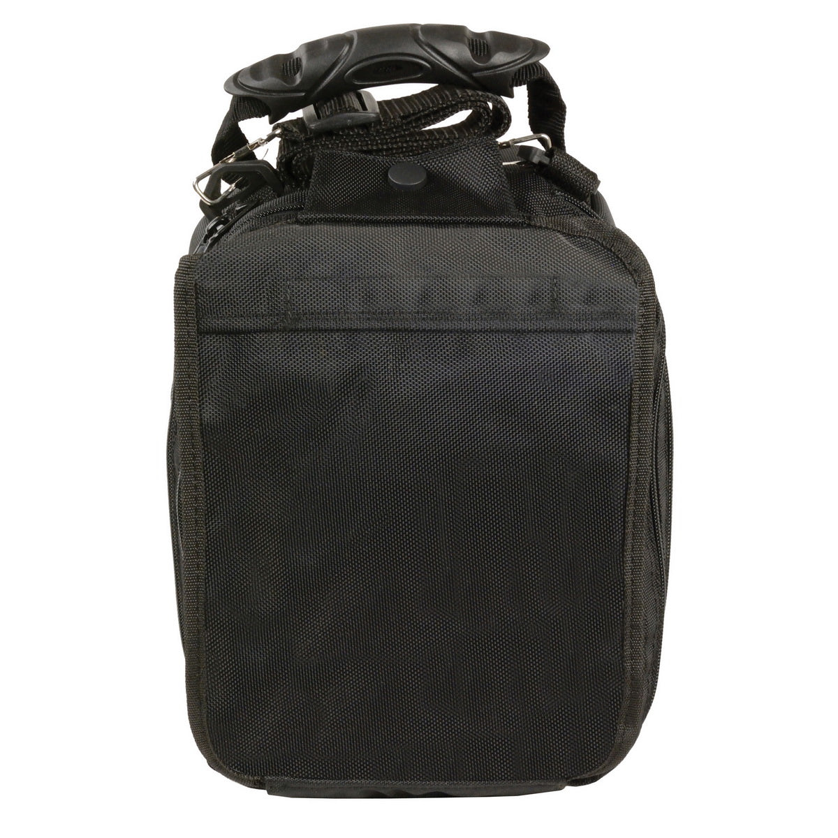 Milwaukee Leather SH675 Black Medium Textile Magnetic Tank Bag with