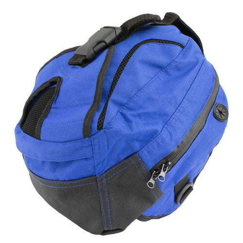 NexGen SH67602 Magnetic Blue Dual Tank Bag and Back Pack