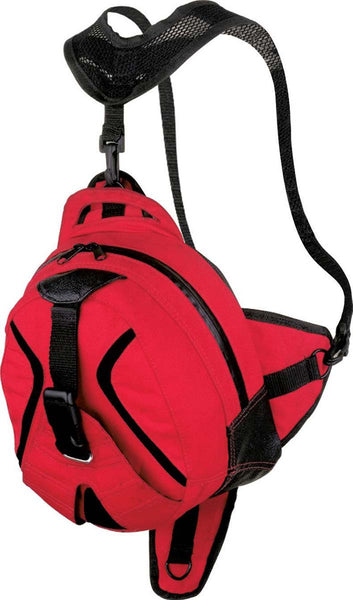 NexGen SH676 Magnetic Red Dual Tank Bag and Back Pack