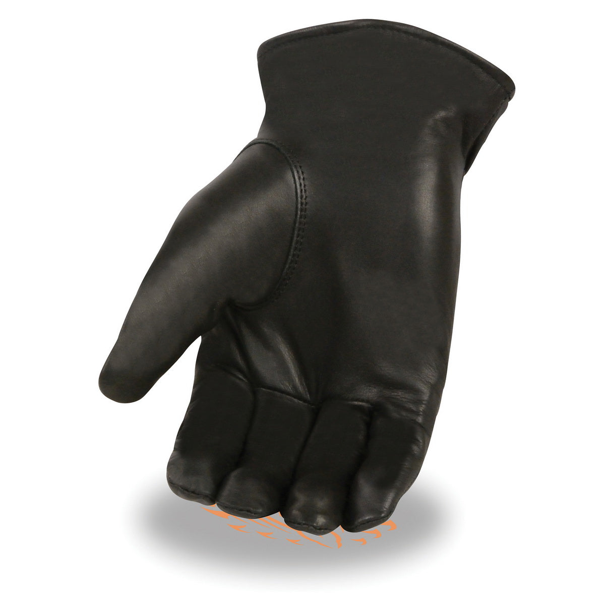 Milwaukee Leather SH734 Men's Black Leather Thermal Lined Gloves with