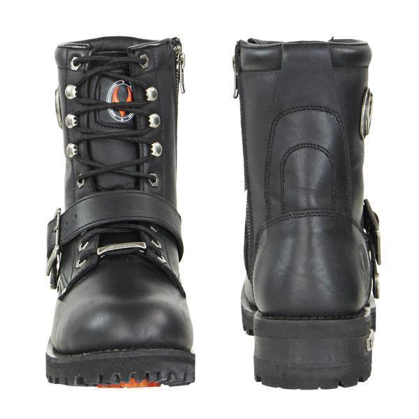Vulcan V-117 Men's 'Rage' Motorcycle Leather Boots