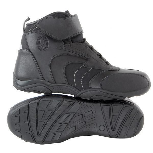 Vulcan V310 Men's 'Troop Sport' Black Leather Motorcycle Boots