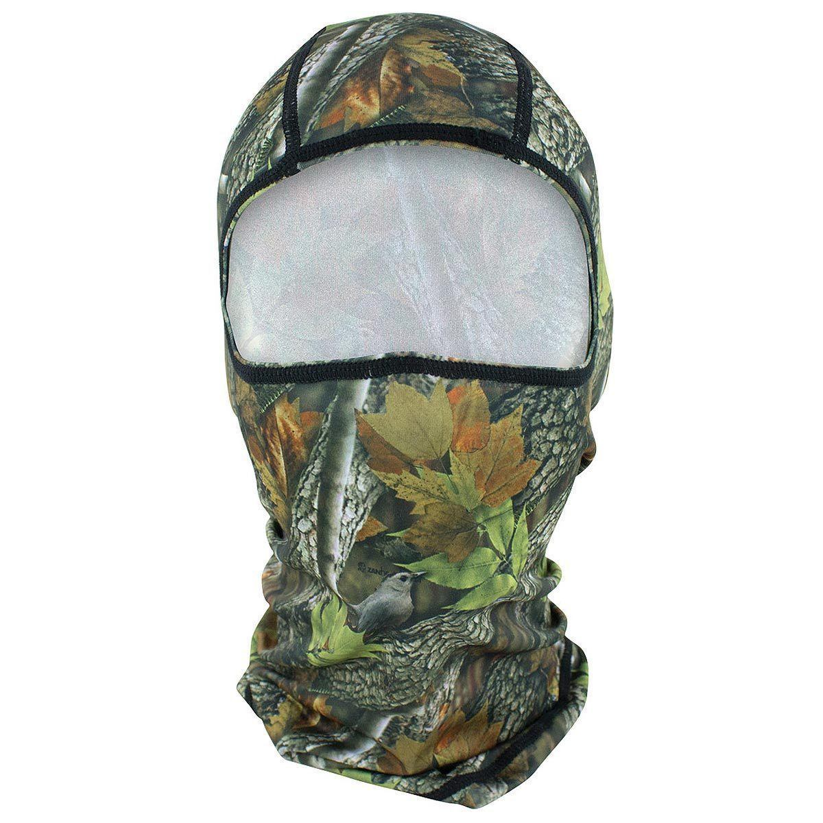 Zan Headgear Forest Camo Balaclava
