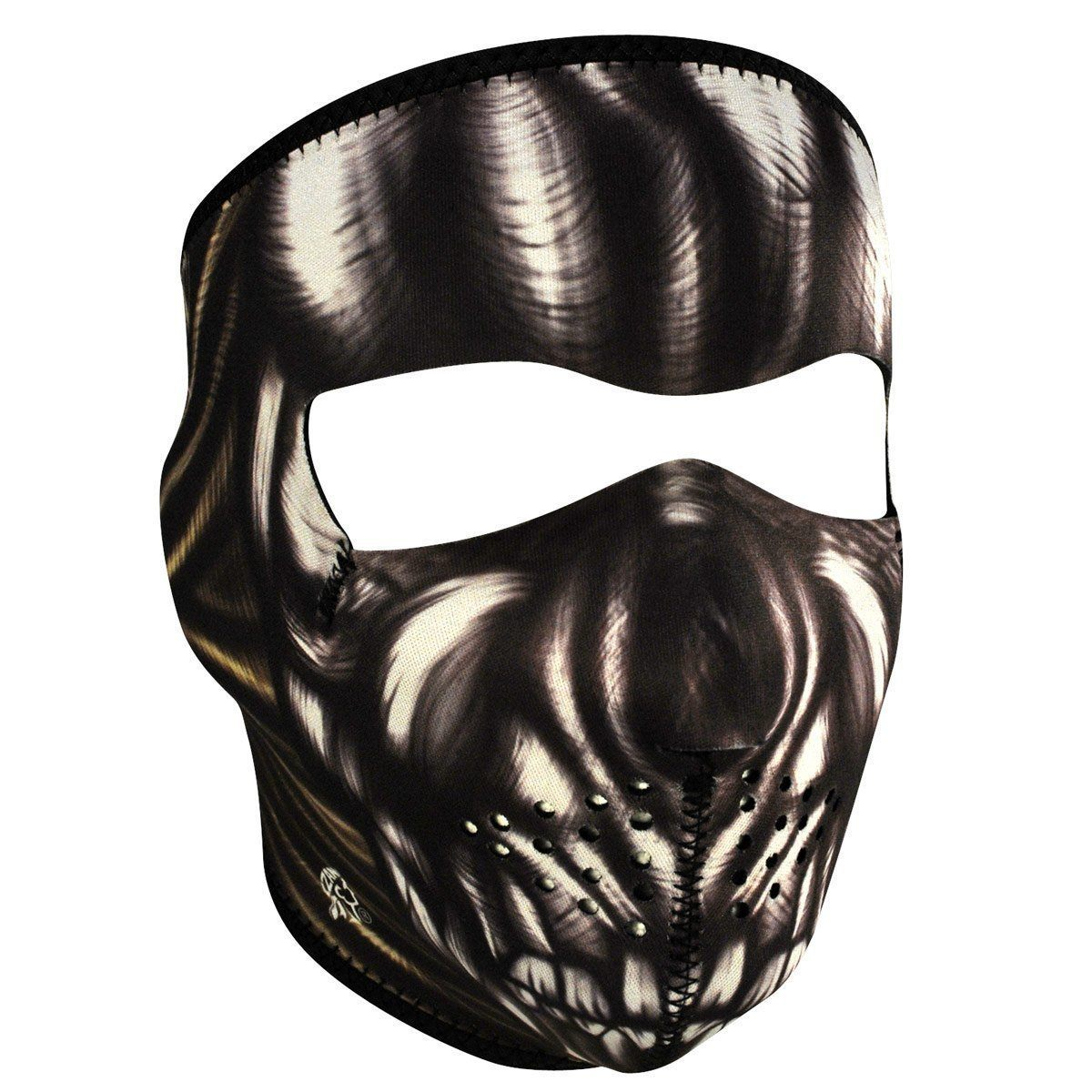 Zan Headgear Ancient Skull Neoprene Face Mask