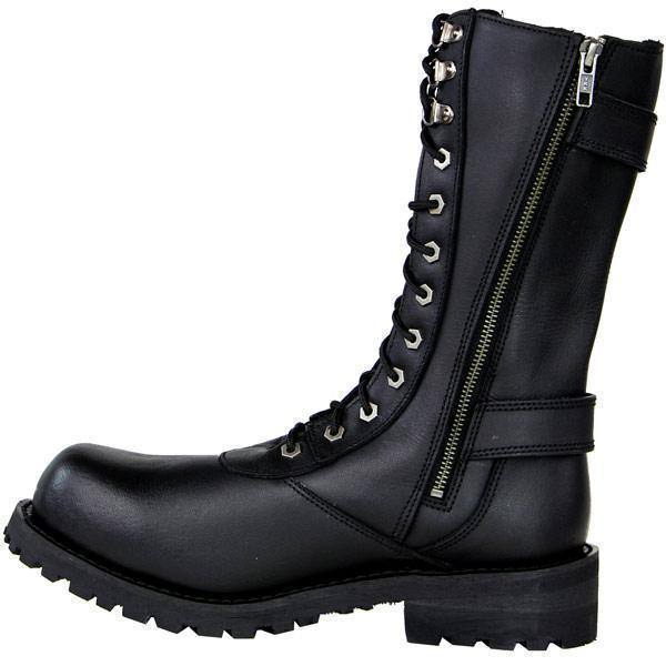 Xelement X19409 'Fury' Men's Black Performance Leather Boots