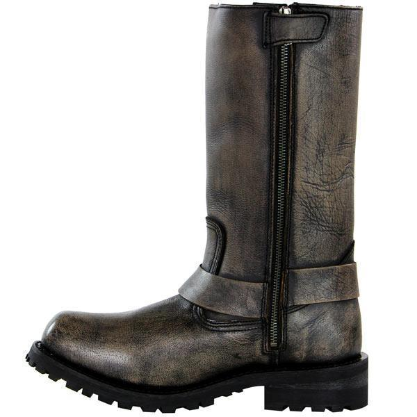 Xelement X99005 'Throttle' Mens Distressed Brown Performance Leather
