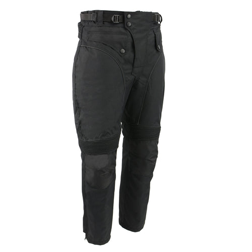 Men's XS2821 Black Water-Resistant Nylon Racing Over Pants