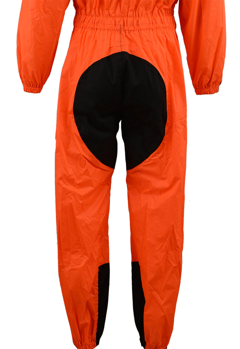 NexGen Men's XS5004 Orange Hi-Viz Water Proof Rain Suit with