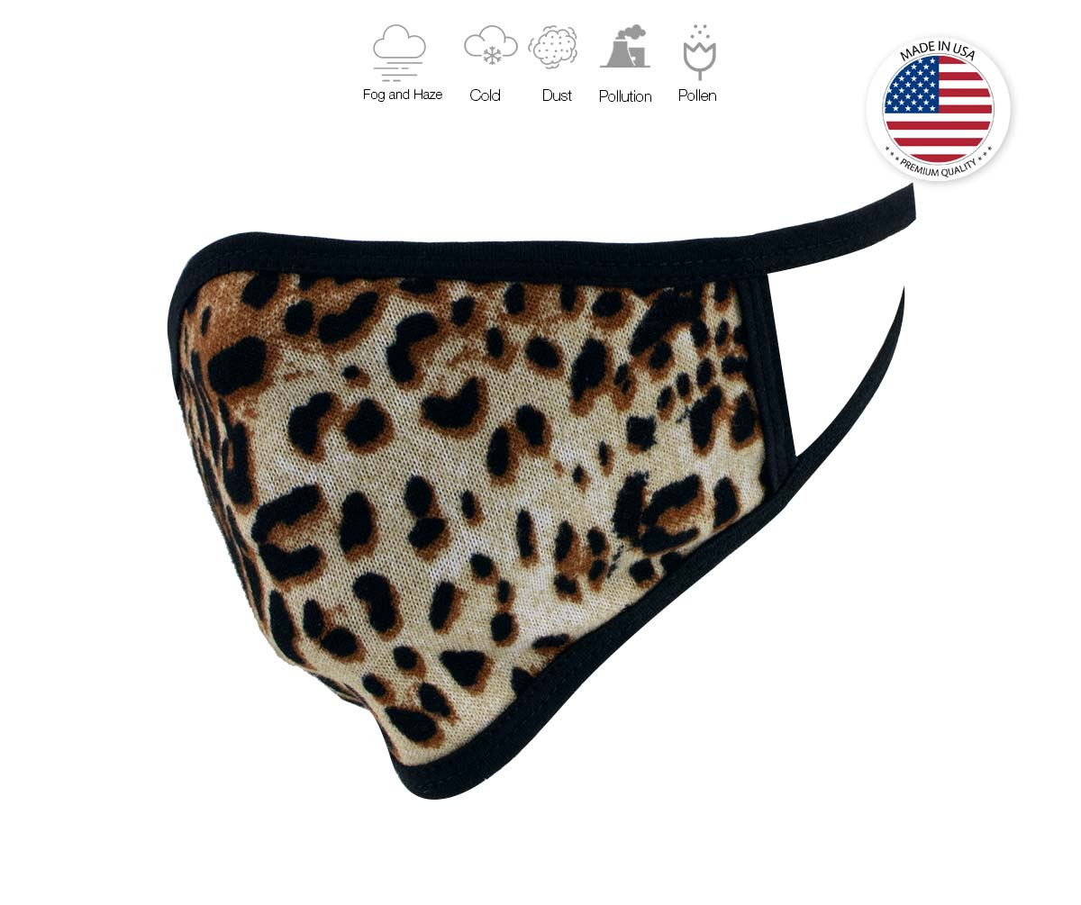 Xelement XS8005 (Multi-Pack) 'Leopard Print' USA Made 100 % Cotton