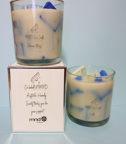 MND Ice Candle - Soy Wax - Homely Scents