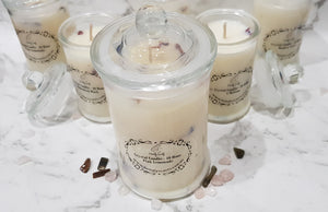 Crystal Candles - Essential Oil - Homely Scents