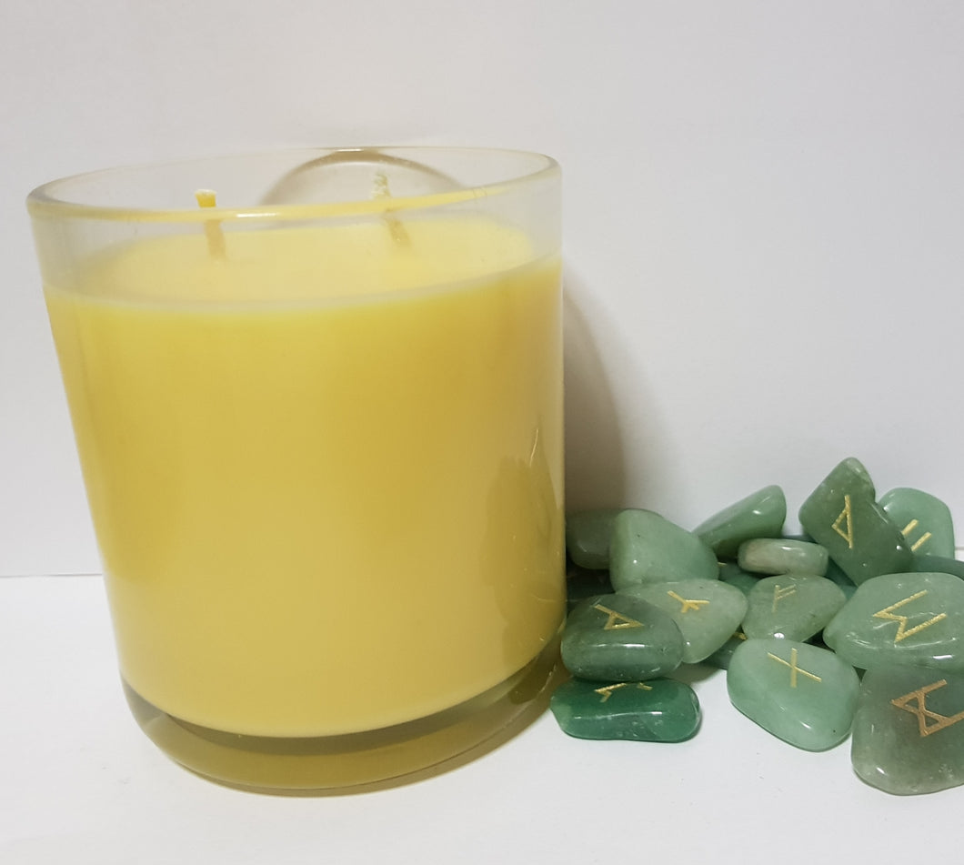 Rune Stone Soy Wax Candle - Homely Scents