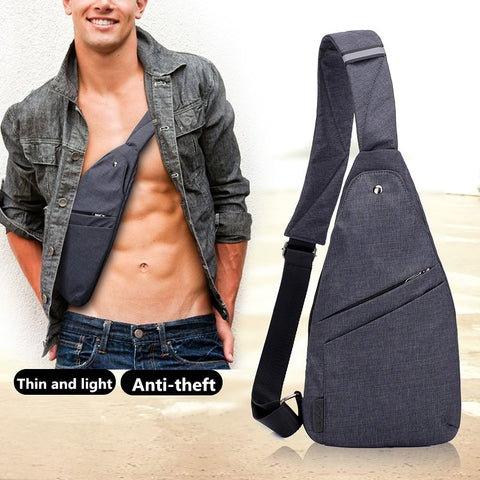 Anti-Theft Multi Pocket Chest Bag