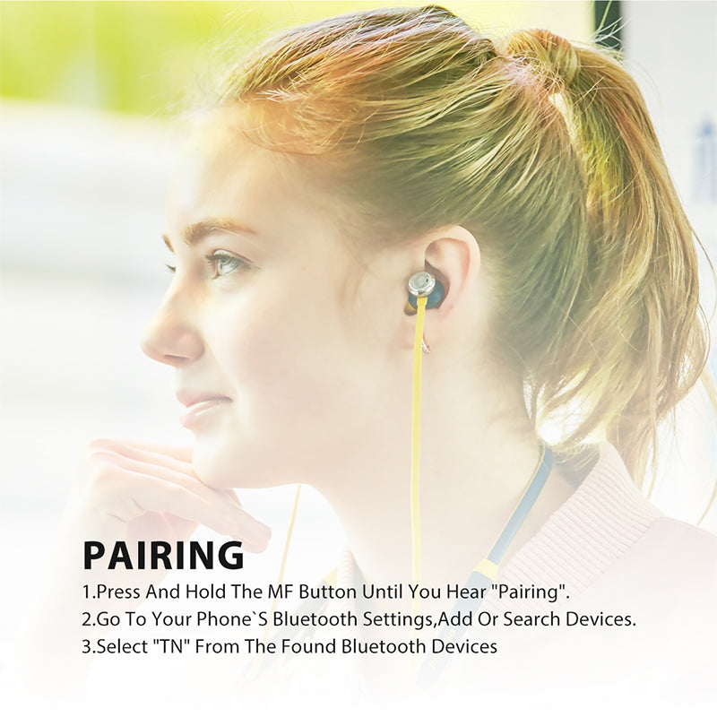 Active Noise Cancelling Sports Bluetooth Earphone