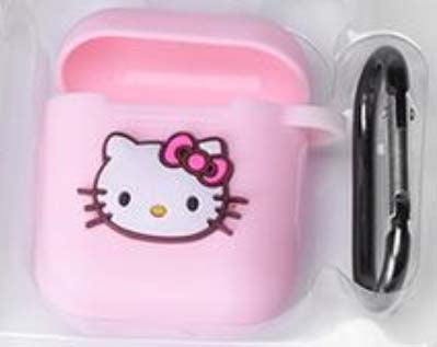 Hello Kitty Silicon AirPods Case Cover With Charging Slit