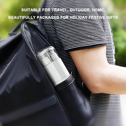 Portable Toiletries Partitioned Storage Cup