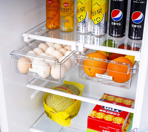 Retractable Refrigerator Storage Drawer