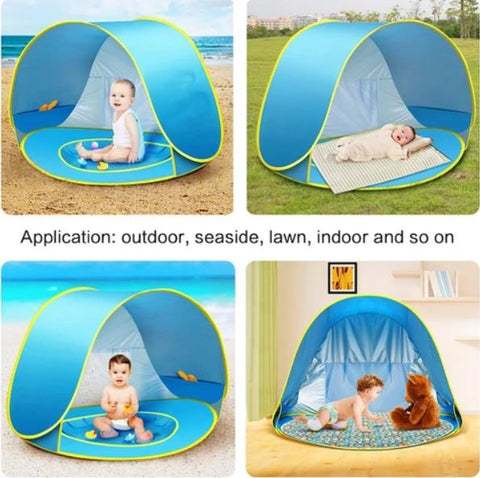 Baby Beach Tent Pop Up Infant Sun UV Protection Shade Toddler Canopy
