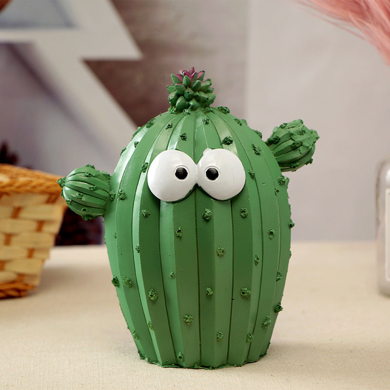 Piggy Bank Cactus Coin Bank for Kids Adults Girls Cool Unique Cute