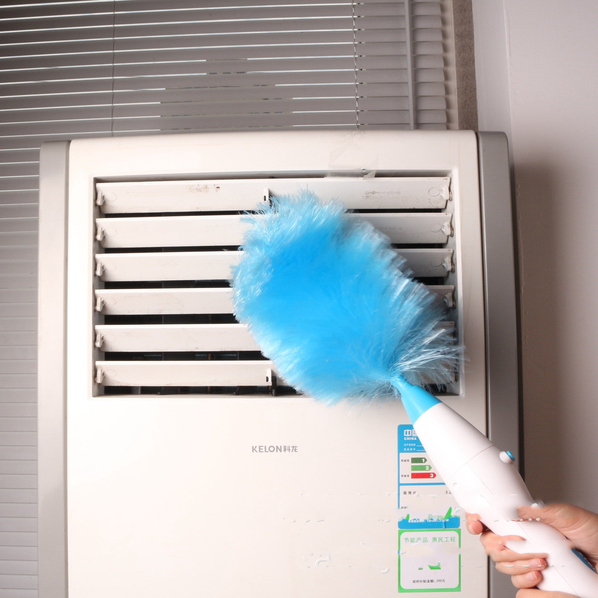 Adjustable Electric Feather Duster Dirt Dust Brush