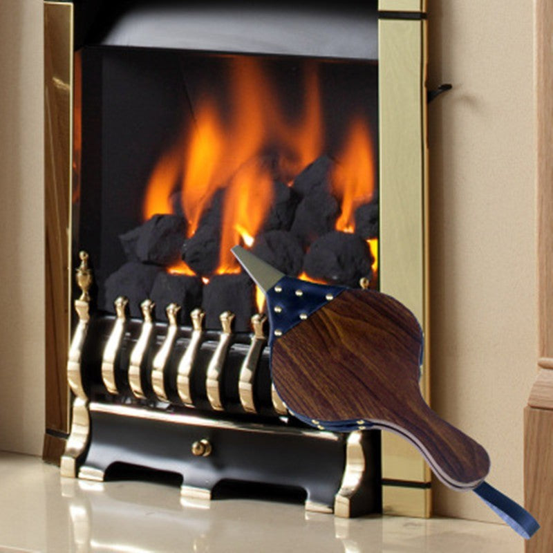 Wooden Manual Fireplace Blower
