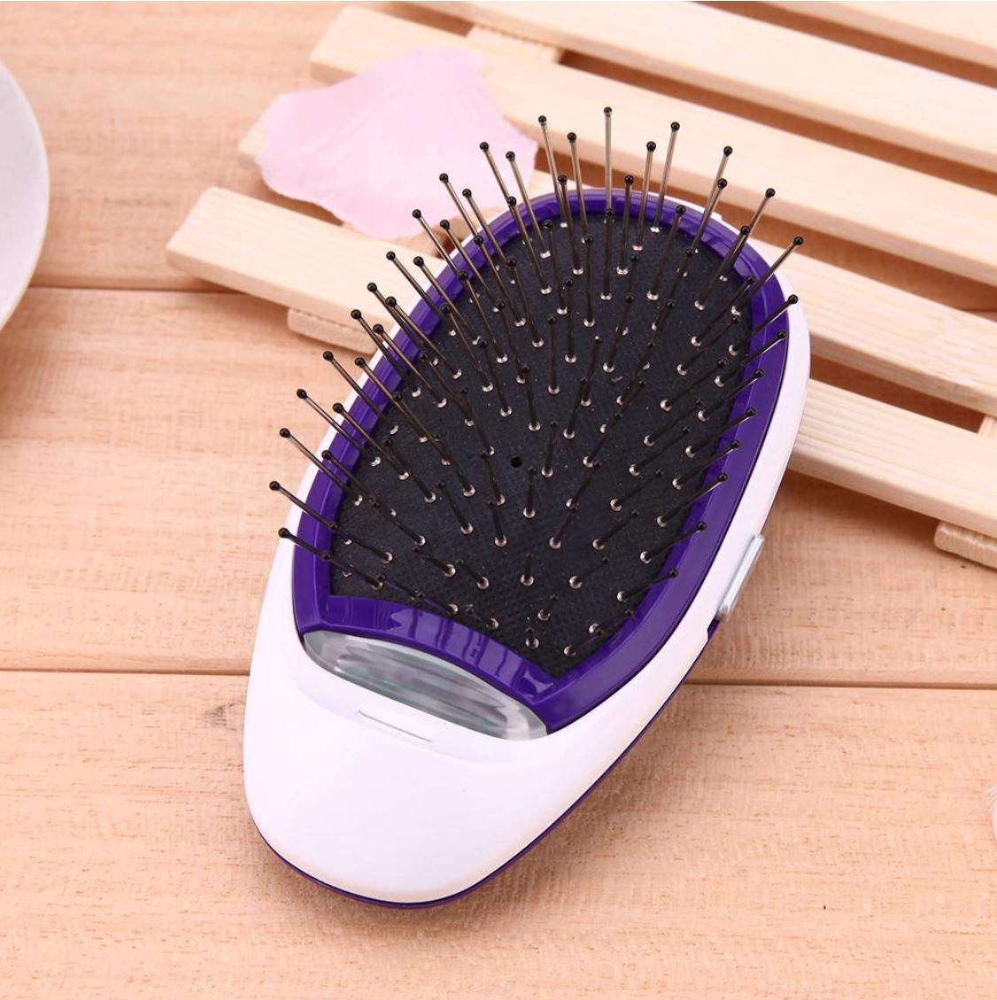 Dual Ionic Breeze Hair Brush Best Portable Ceramic Straightener Comb