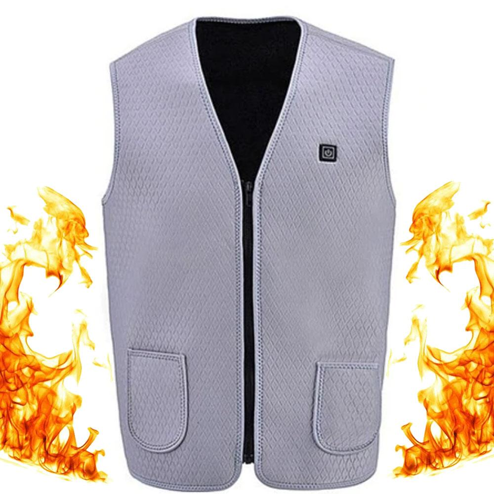 Heated Vest Mens Womens Electric Battery Best 2019 Hunting Motorcycle