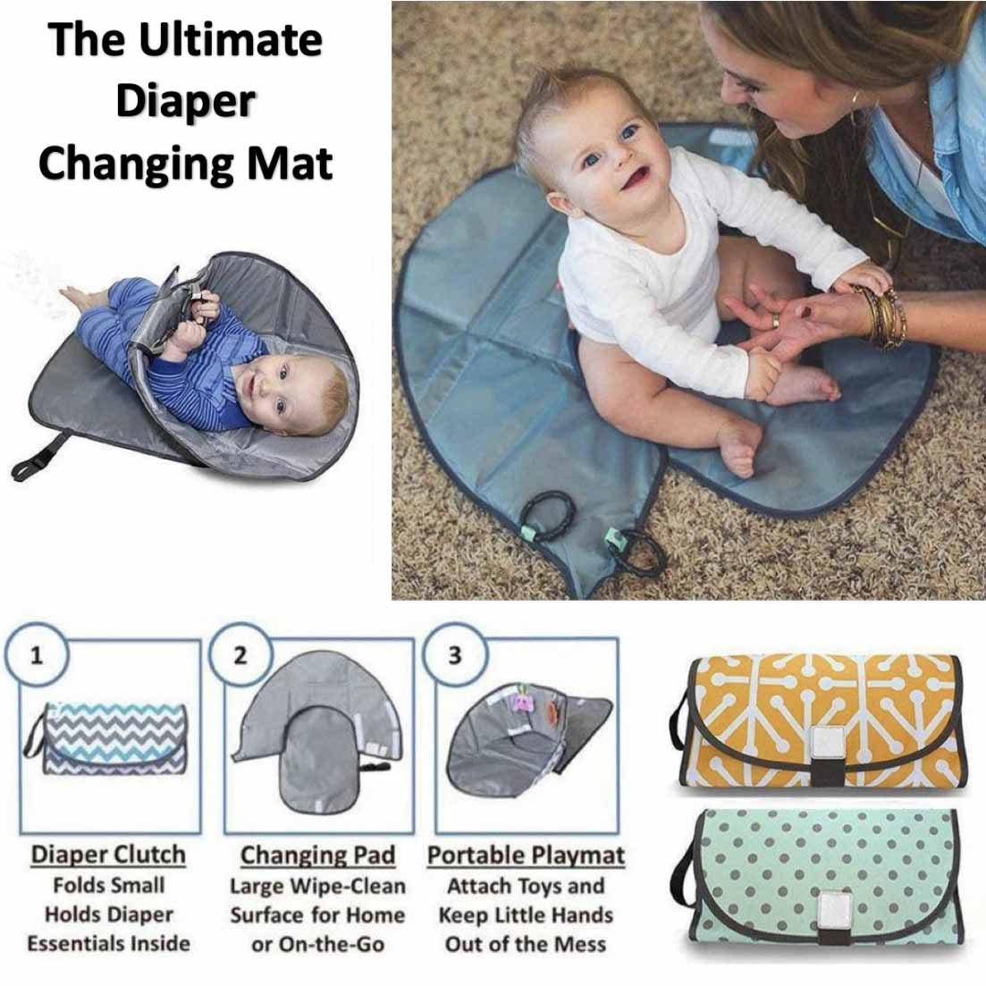 Ultimate Diaper Changing Mat