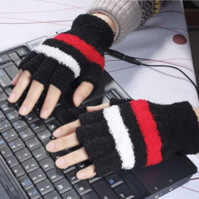 Electric Heated Mitten Gloves