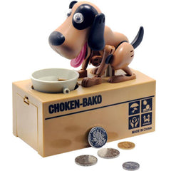 Coin Eating Dog Piggy Bank