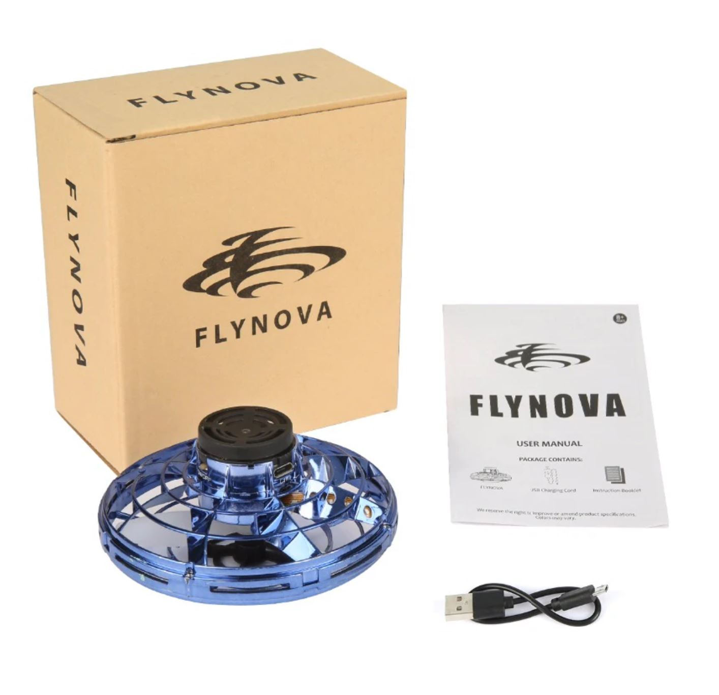 Flynova Flying Spinner Fidget Spinning Toy Gift for Kids Adults 2019