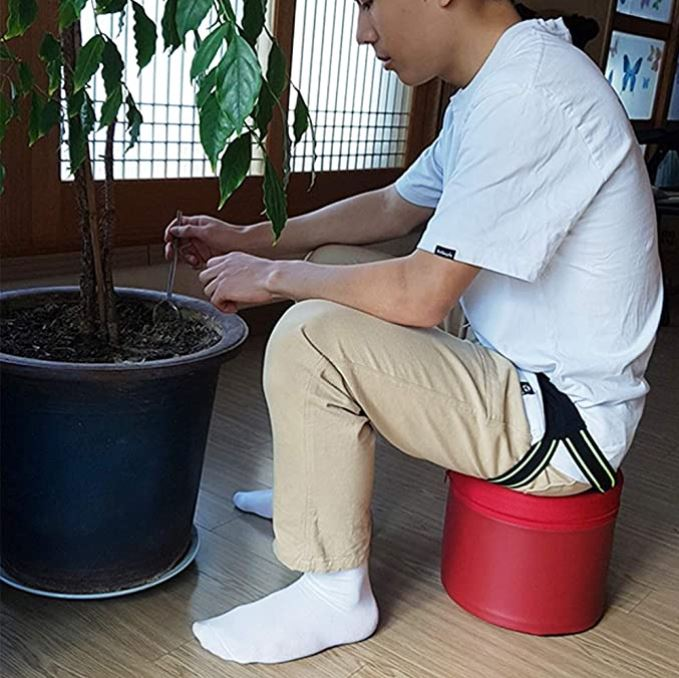 Ultralight Wearable Gardening Stool