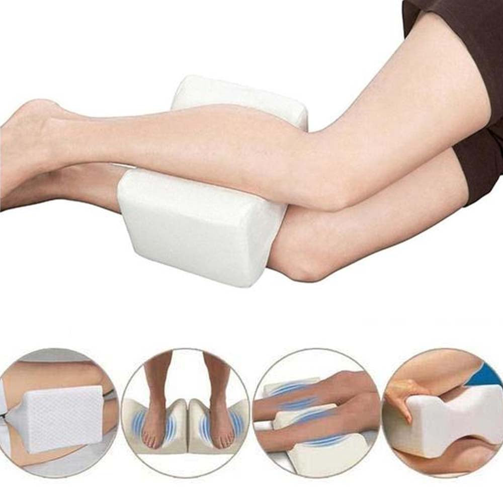 Contour Memory Foam Leg Pillow For Between Knees Wedge Support