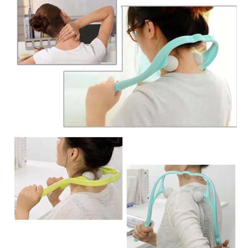 Neck Ball Self Massager For Shoulder and Neck Pain Relief