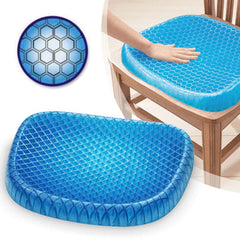 PostureCloud™ Spinal Alignment Comfort Gel Seat Cushion
