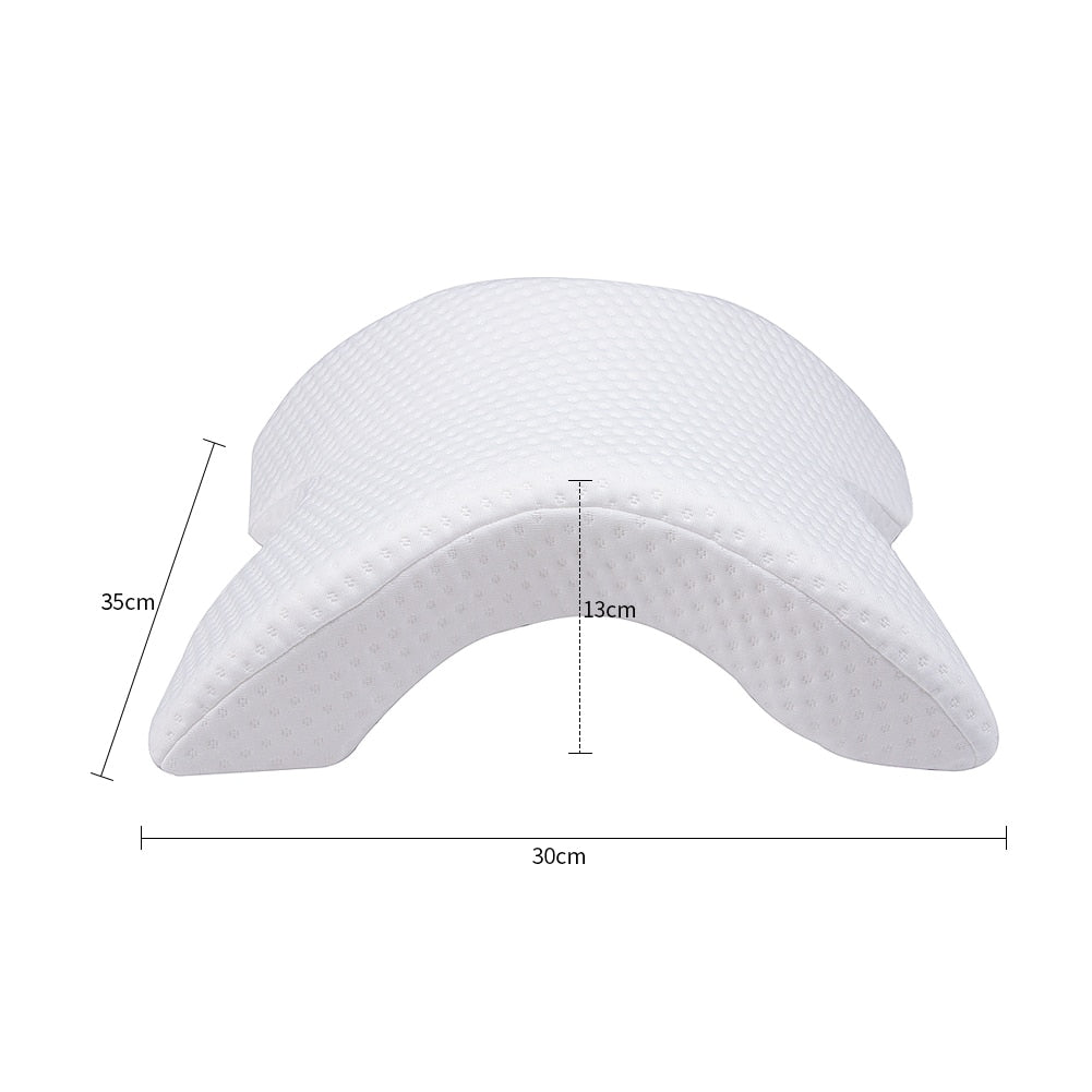 Memory Foam Spooning Pillow Anti Snoring & Arm Rest Pillow