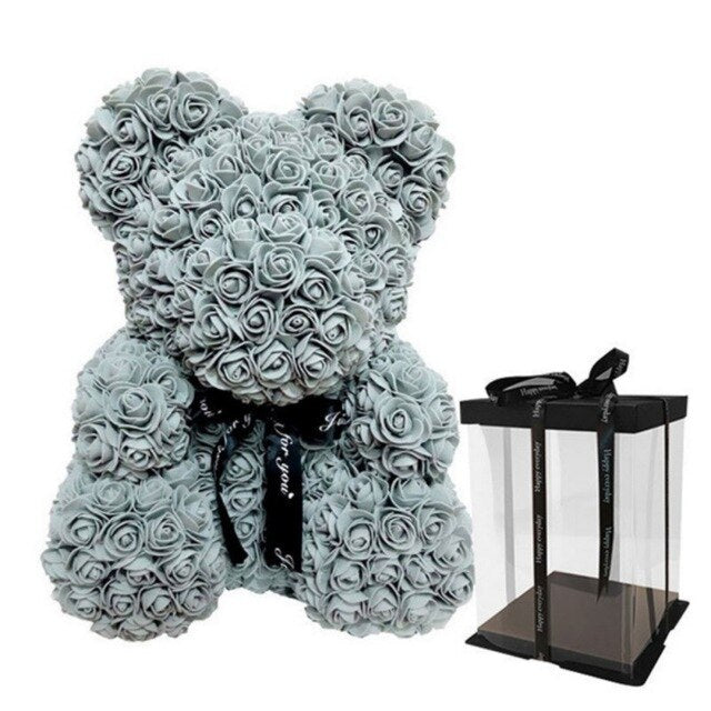 Luxury Rose Teddy Bear Best Romantic Gift