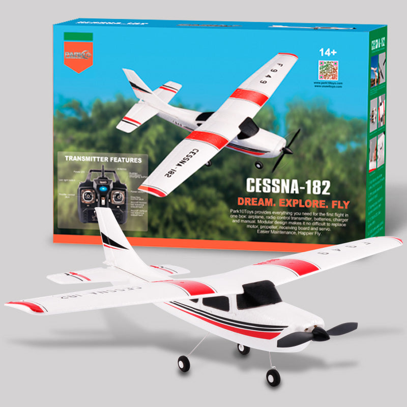 F949 Cessna 182 2.4G 3Ch RC Airplane Fixed Wing Remote Control Plane