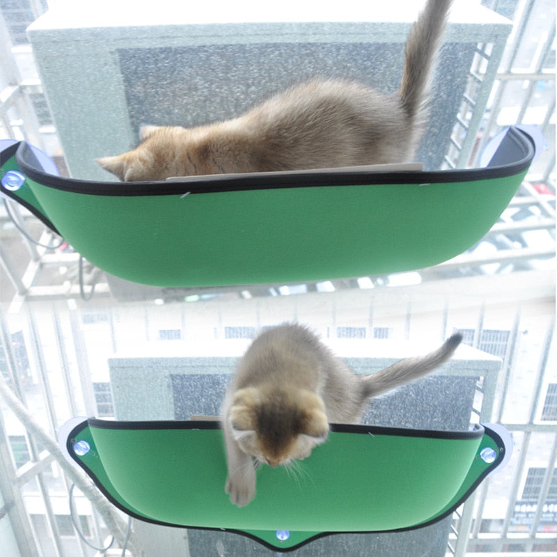 Classic Cat Hammock Cat Window Perch Bed