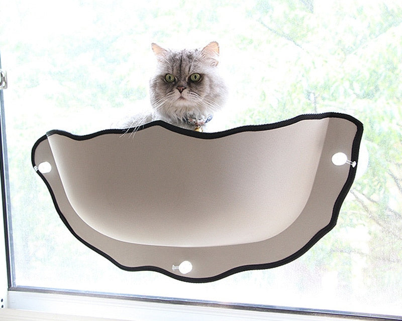 Cat Hammock Window Bed With Transparent Cover Cat Lounger