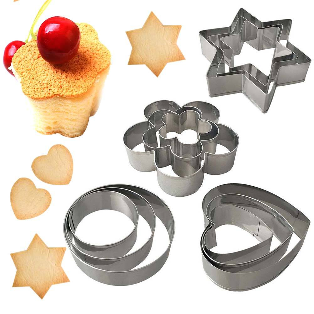 12 in 1 Cookie and Biscuit Cutters