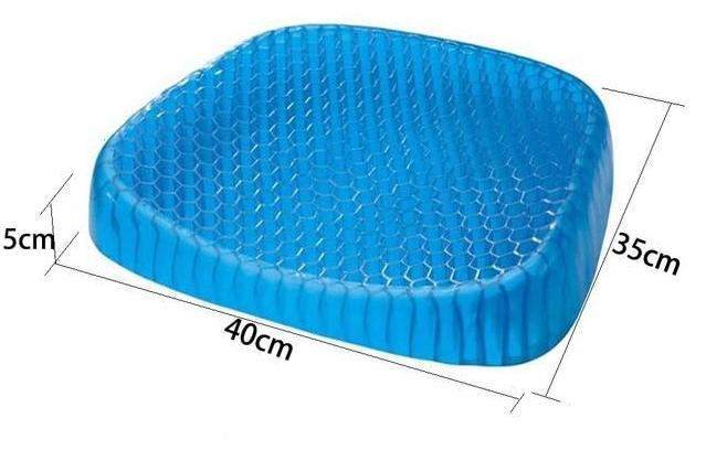 Orthopedic PostureCloud™ Spinal Alignment Comfort Gel Seat Cushion Pad