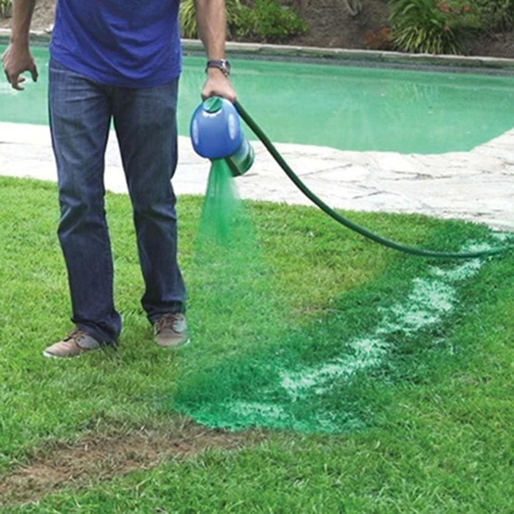 Hydro Mousse Liquid Lawn Seed Sprayer Kettle Seeder System