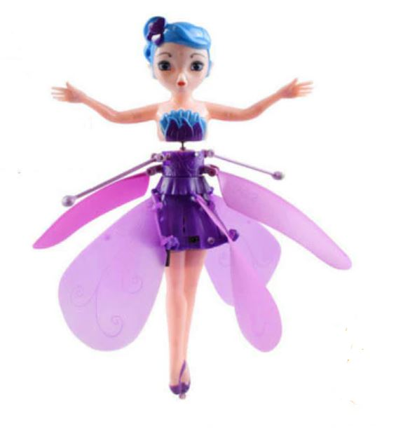 Magic Flying Fairy Purple