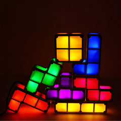 Customizable Tetris Lights