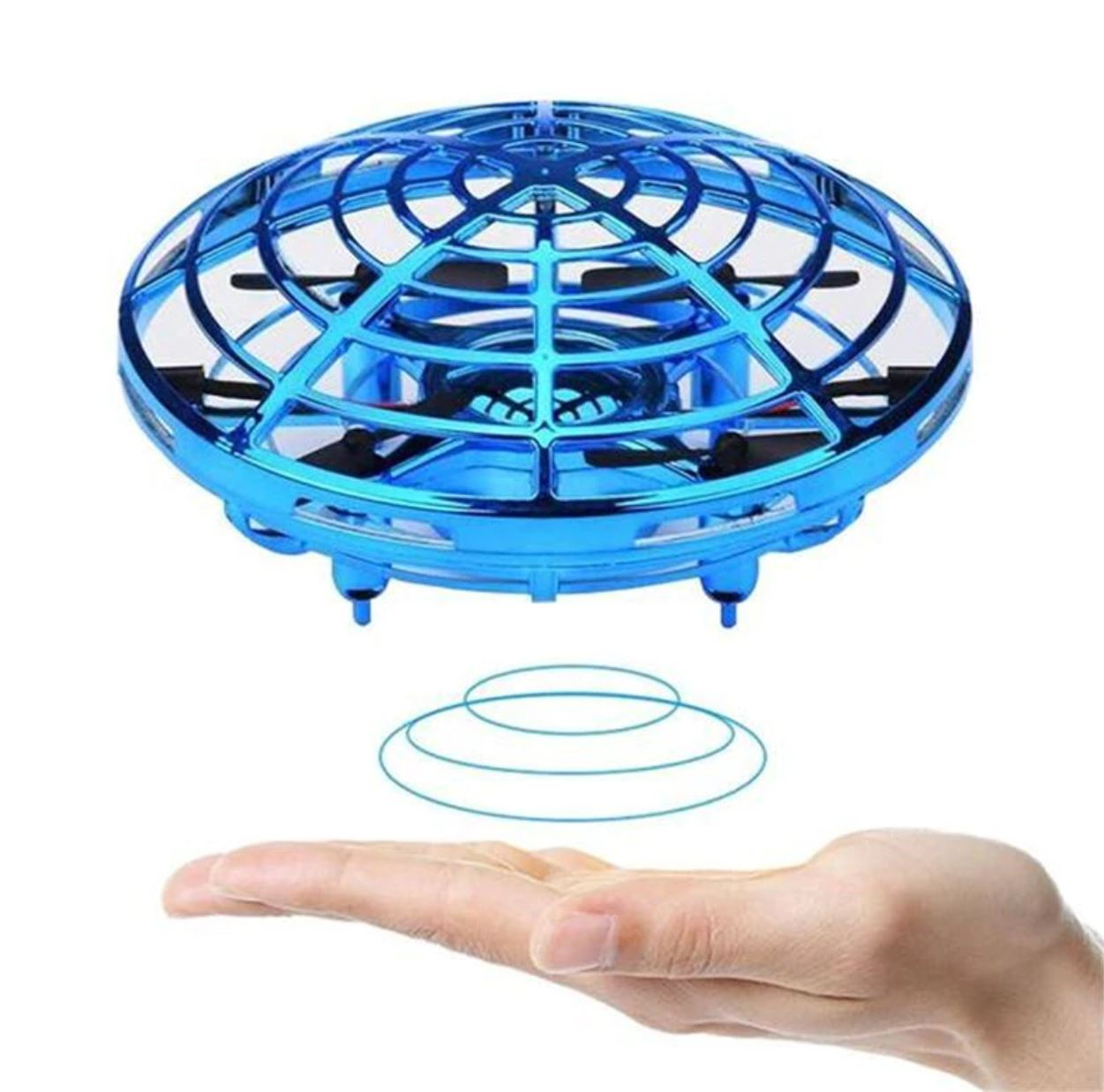 Flying UFO drone induction toy