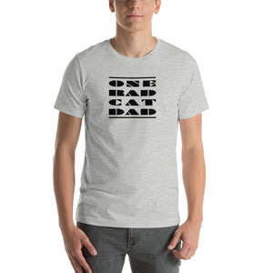 ONE RAD CAT DAD | Short-Sleeve Unisex T-Shirt